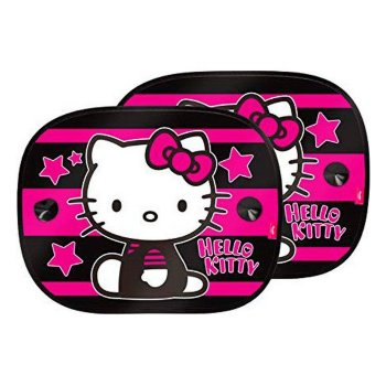 Cortinilla Lateral para Coche Hello Kitty KIT4051 Infantil (2 pcs)