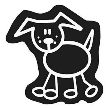 Adhesivo para Coche Family Perro