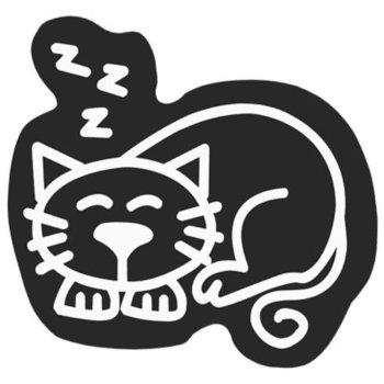 Adhesivo para Coche Family Gato