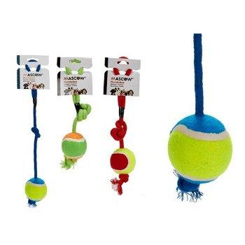 Juguete para Perros pelota con Cuerda