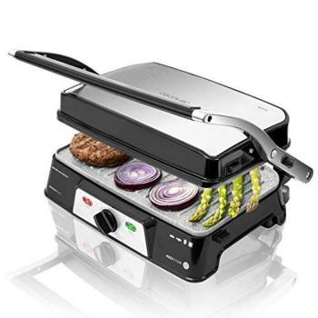 Grill de Contacto Cecotec Rock'n grill 1500 Take&Clean