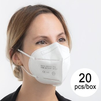 Mascarilla de Protección Respiratoria FFP3 5 capas (Pack de 20)