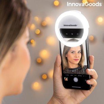 Aro de Luz para Selfie Recargable Instahoop InnovaGoods
