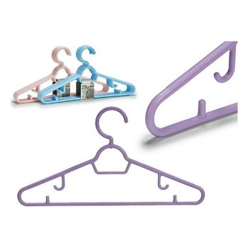 Juego de Perchas Plástico (5 Piezas) (4 x 20,5 x 39,5 cm)