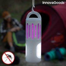 Lámpara Antimosquitos Linterna y Farol Portátil 3 en 1 KLTower InnovaGoods
