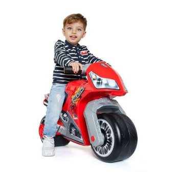 Correpasillos Moto Cross Premium Moltó Rojo