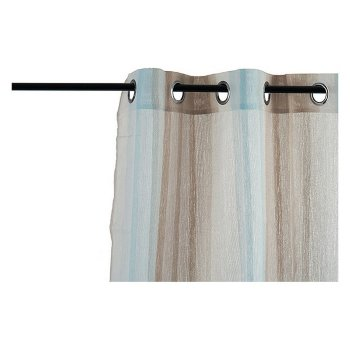 Cortinas Beige Rayas (260 x 1 x 140 cm)