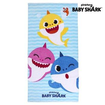 Toalla Playa Baby Shark Azul