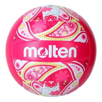 Balón de Voley Playa Molten V5B1300 Rosa (Talla 5)