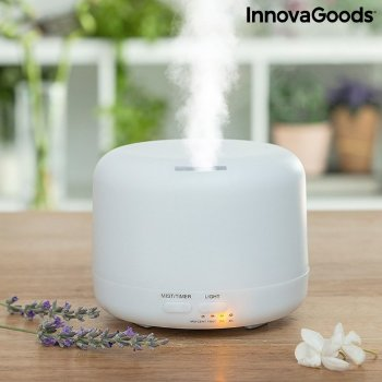 Humidificador Difusor de Aromas con LED Multicolor Steloured InnovaGoods