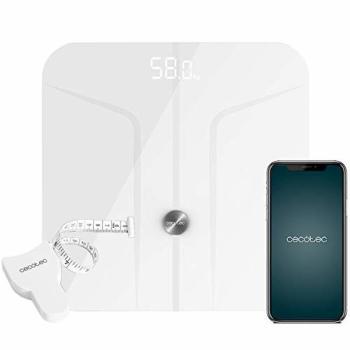 Báscula Digital de Baño Cecotec Healthy