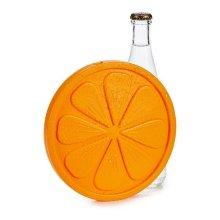 Acumulador de Frío Naranja Plástico (17,5 x 1,5 x 17,5 cm)