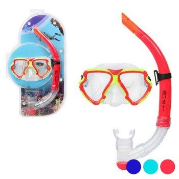 Gafas de Buceo con Tubo Adultos Pvc 117560