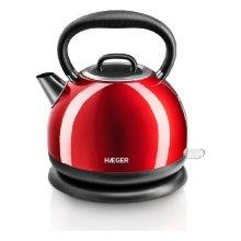 Hervidor y Tetera Eléctrica Haeger Red Cherry 2200 W 1,7 L