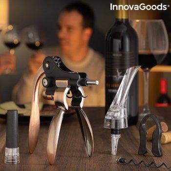 Set de Accesorios para Vino Servin InnovaGoods 5 Piezas