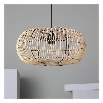 Lámpara de Techo Ledkia Bambu Viringo 25W