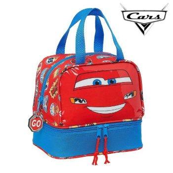 Portameriendas Cars Azul Rojo (15 L)
