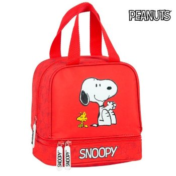 Portameriendas Snoopy Rojo (15 L)