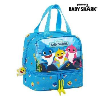 Portameriendas Baby Shark Azul claro (15 L)