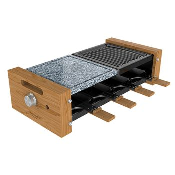 Plancha Grill Cecotec Cheese&Grill 8400