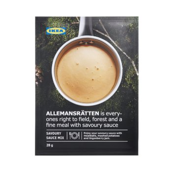 Allemansrätten Savoury Sauce Mix (28gr)
