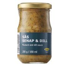 SÅS SENAP & DILL