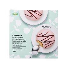 KAFFEREP CREAM CAKE WITH ALMOND PASTE