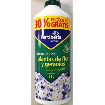 Abono Plantas de flor y geranios