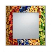 Espejo decorativo mosaico pequeño