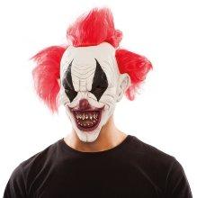 Máscara de Payaso diabólico látex Halloween