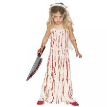 Disfraz de Novia sangrienta niña Halloween