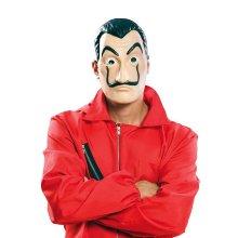 Máscara de Dalí Ladrón La casa de Papel en látex