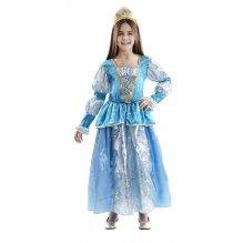 Disfraz de niña Princesa Azul