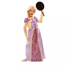 Disfraz de niña Princesa Lila