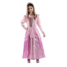 Disfraz de niña Princesa Rosa