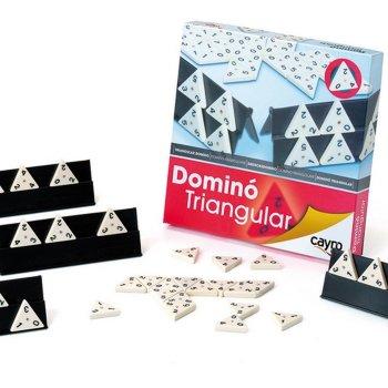 Juego Dominó triangular Domina 3