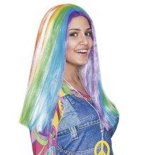 Peluca arco iris