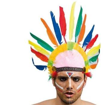 Penacho Indio para disfraz