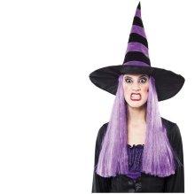 Sombrero de bruja con peluca