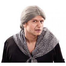 Peluca de Anciana para disfraz