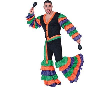 Disfraz de Brasileño  adulto Talla única
