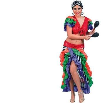 Disfraz de Brasileña  adulto Talla única