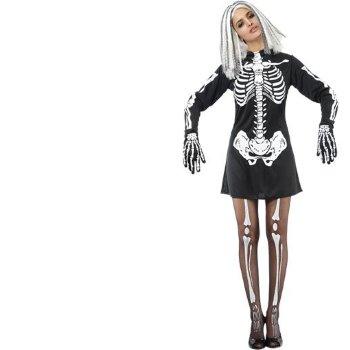 Disfraz de Esqueleto chica