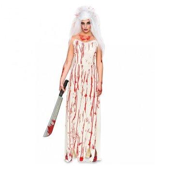 Disfraz de novia sangrienta mujer Halloween