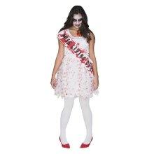 Disfraz Miss instituto zombie adulto.