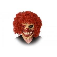Máscara de payaso siniestro
