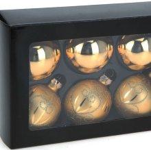 Caja bolas decorativas