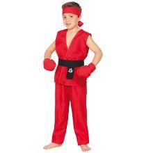 Disfraz infantil de Guerrero Kung Fu