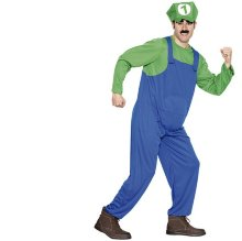 Disfraz Fontanero Adulto Verde