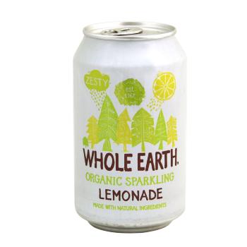 WHOLE EARTHBebida ecológica con sabor a limón